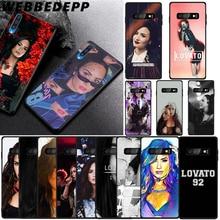 WEBBEDEPP Demi Lovato Soft Case for Samsung Galaxy A3 A5 A6 Plus A7 A8 A9 J6 Cover