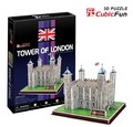 Candice guo! 3D puzzle toy CubicFun paper model jigsaw game C715H tower of London 1pc