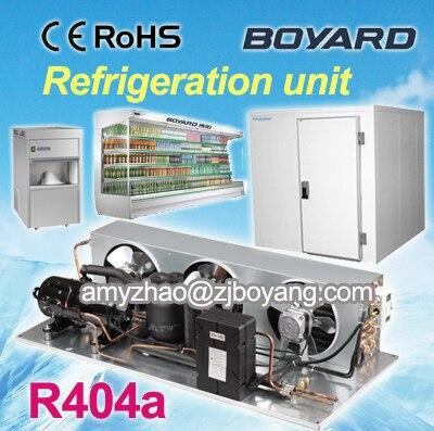 цена cold room refrigeration unit boyard hermetic refrigeration kompressor for commercial supermarket freezer онлайн в 2017 году