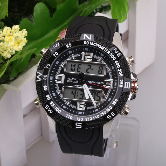 Top Brand Mens Sports Watches LED Digital Watch Fashion Outdoor Waterproof Women's Wristwatches Reloj Hombre Erkek Kol Saati