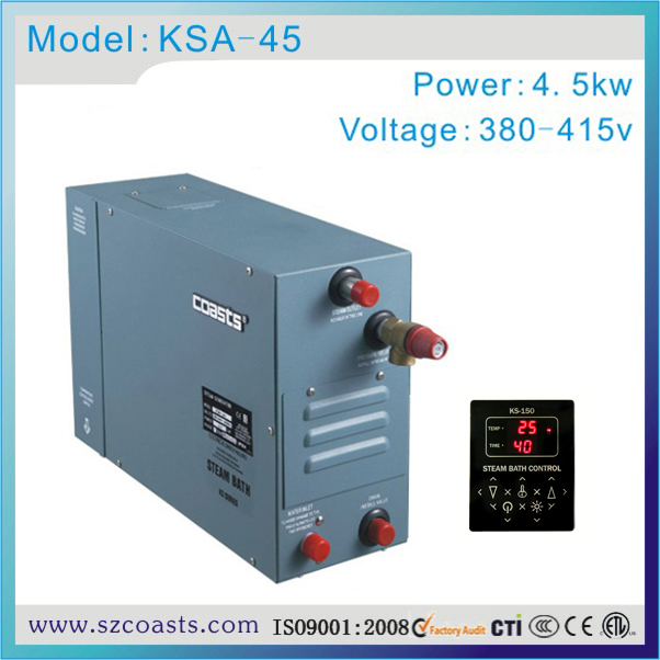 4kw/380-415v/50-60hz Steam Generator,power Generator For Spa Bath Room