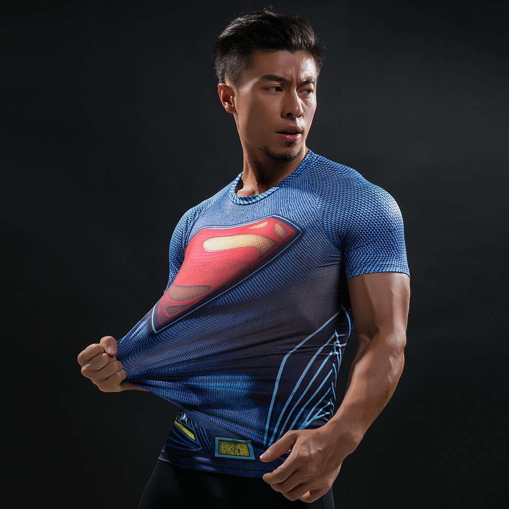 Punisher 3D Printed T-shirts Men Compression Shirts Long Sleeve Cosplay Costume crossfit fitness Clothing Tops Male Black Friday 103