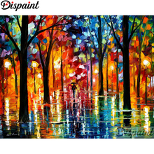 Dispaint Full Square/Round Drill 5D DIY Diamond Painting Colored oil painting3D Embroidery Cross Stitch Home Decor Gift A12368