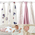 Hot Sell Aden Anais Muslin Baby Blanket Bamboo Fiber Newborn Bath Travel Towel swaddle Warp Multifunctional Quilt 120CM*120CM