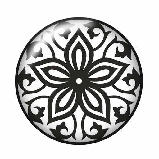 אופנה BeautyBlackpatter פרחי 10pcs 12mm/18mm/20mm/25mm עגול תמונה זכוכית קרושון הדגמה שטוח חזור ביצוע ממצאי ZB0489
