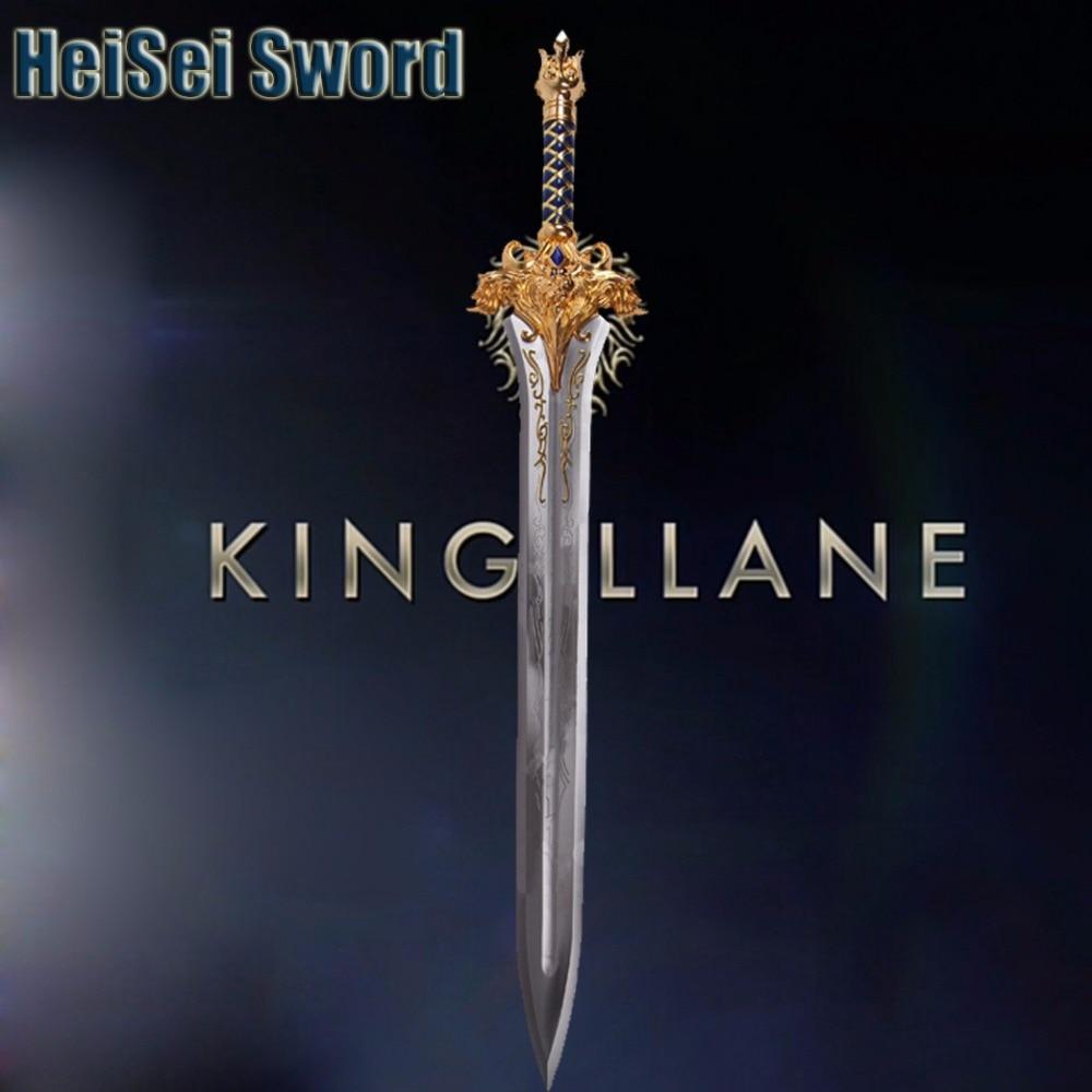 Cosplay Wow World Of Warcraft King Llane Sword 1 1 Game