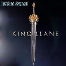 Cosplay WOW World of Warcraft King Llane Sword 1:1 Game Movie Anime Western Sword Stainless Steel Real Weapon
