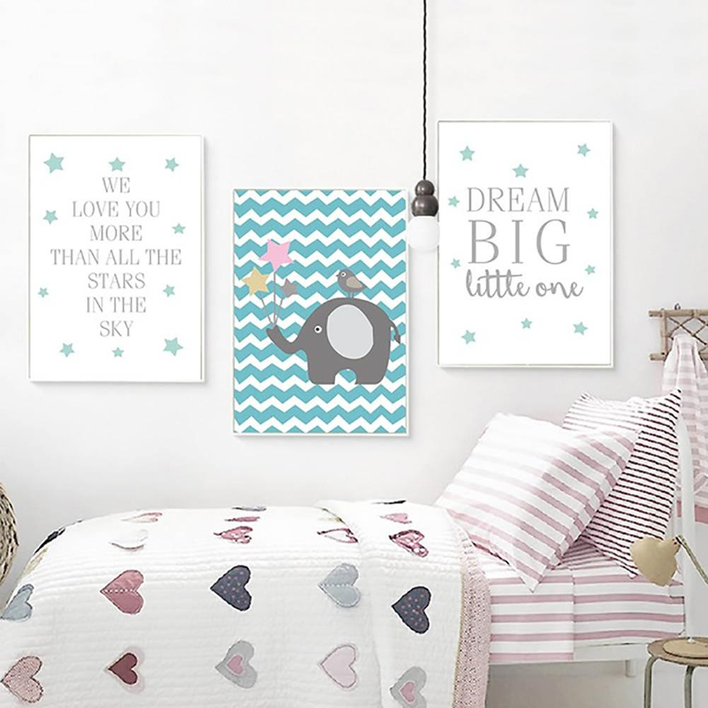 Acrylic Canvas Painting For Kids Room Painting Inspired