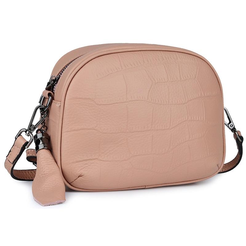 474b4f3b2bee Женская сумка из натуральной кожи, сумки через плечо с каменным узором,  Новое поступление 2019