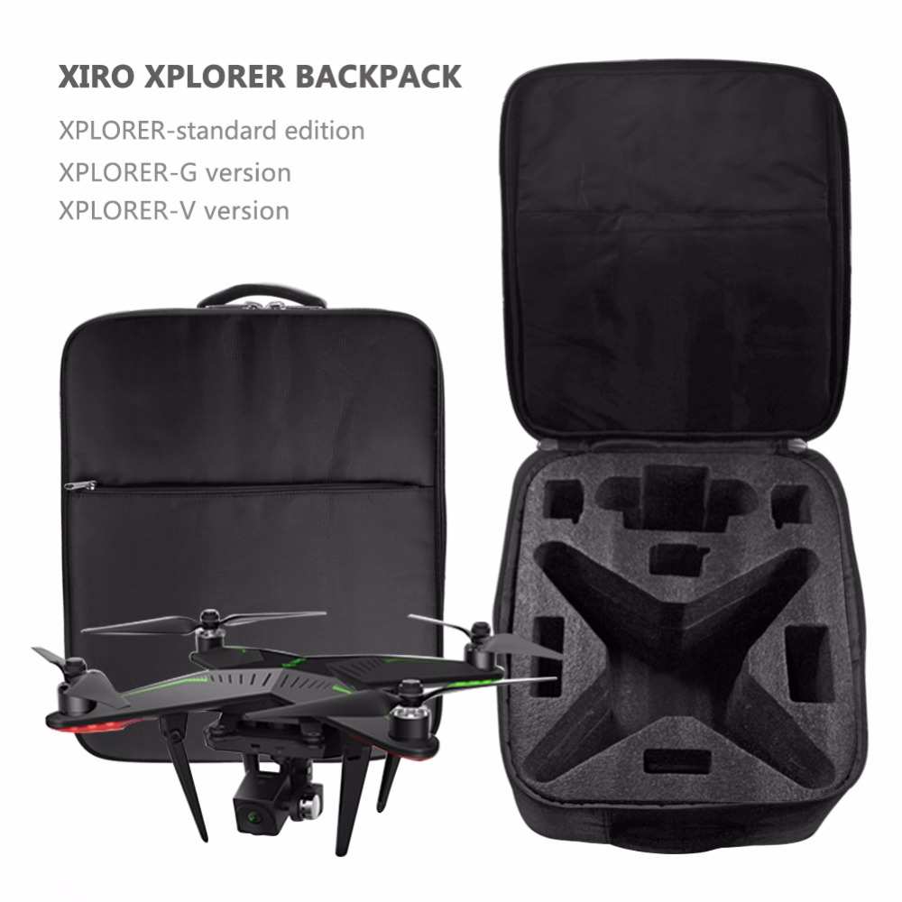 For Zero Explorer hard shell waterproof case XIRO Explorers Special backpack Axis helicopter Protection box for UAV VS DJI bag xiro zero explorer special backpack