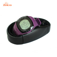 Zencro Manufacturer Colorful Wristband Bracelet Pedometer Calories Counter Heart Rate Monitor