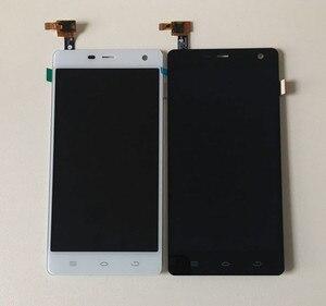 """Image 2 - Axisinternational Voor 5.0 """"THL 5000 lcd scherm + touch screen panel digitizer wit/zwart gratis verzending"""