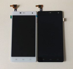 """Image 2 - Axisinternational pour 5.0 """"THL 5000 écran LCD + écran tactile panneau numériseur blanc/noir couleur livraison gratuite"""