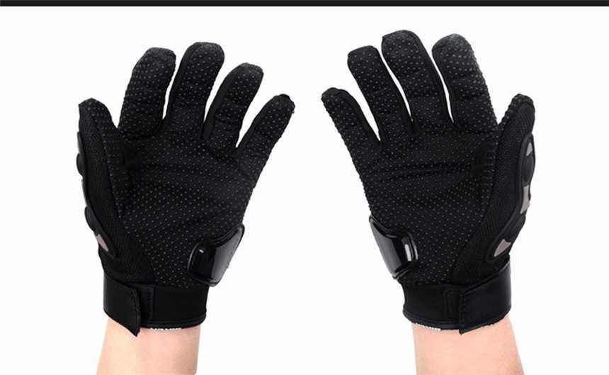 プロバイカー手袋男性フルフィンガーオートバイメッシュ手袋 motocicleta オートバイ夏 luvas モトクロス guantes M L XL XXL