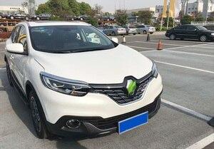 Image 3 - For Renault Kadjar 2016 2017 2018 2019 Front Mesh Grille Cover Trim Bonnet Garnish Molding Guard Protector Car Styling Stickers
