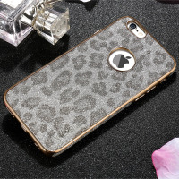 X Level Snow Leopard TPU Luxury Brilliant Phone Case For Apple Iphone 6 6s 4 7