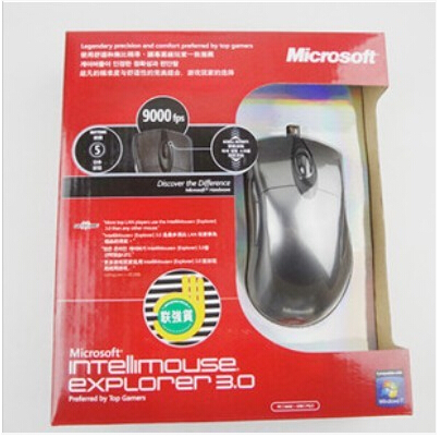 c7c175e7267 Free Shipping 6 colors 6 type Microsoft Intellimouse Explorer IE 3.0 USB  Gaming Mouse Steelseries legends edition-in Mice from Computer & Office on  ...