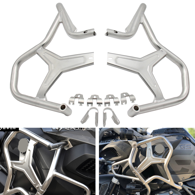R1200GS Motorcycle Engine Guard Crash Bar Protector For BMW R1200GS ADVENTURE 2014 2015 2016 2017 2018