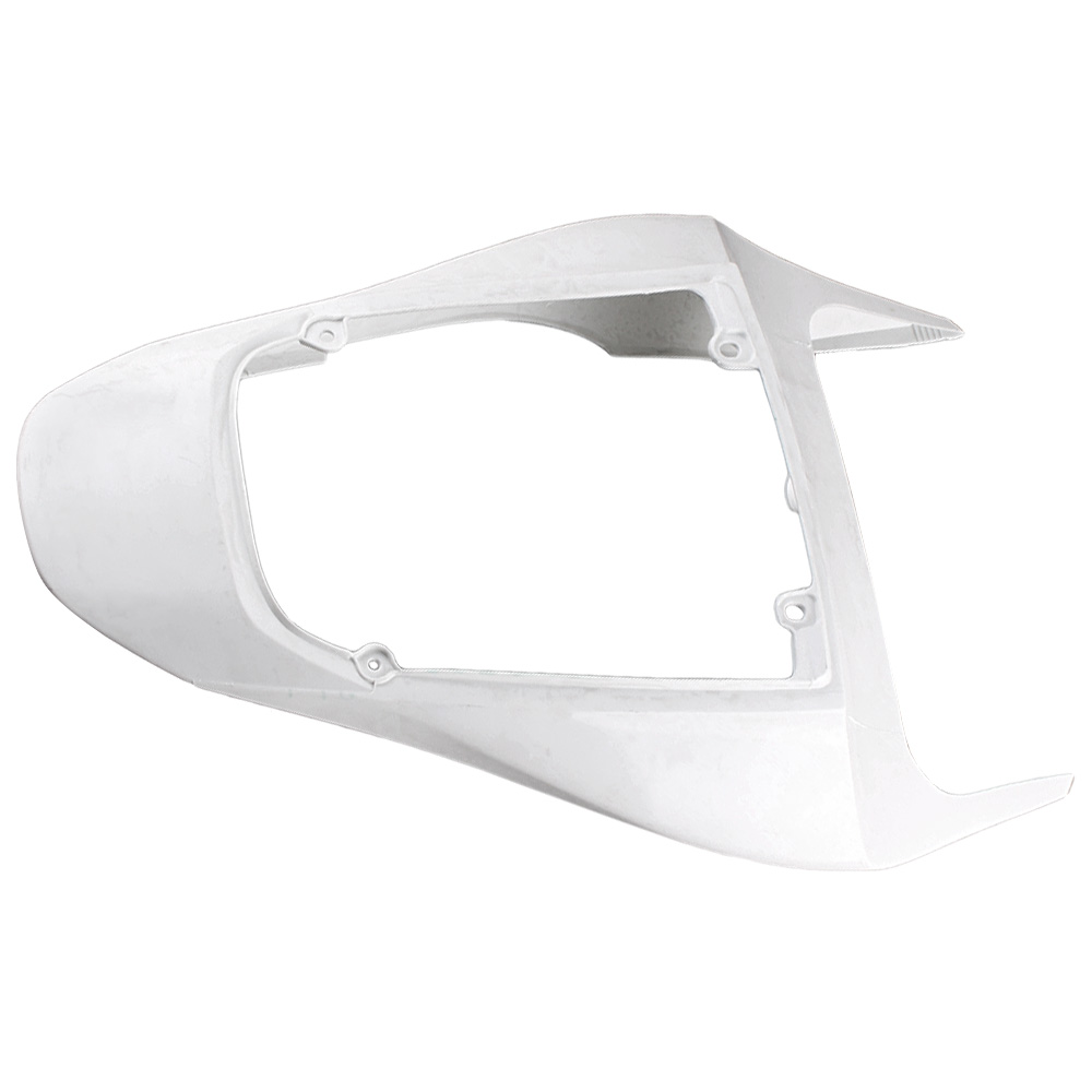 For Honda CBR600RR Tail Rear Fairing Cover Bodykits Bodywork 2007 2008 Injection Mold ABS Plastic Unpainted White Motorbike Part