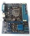 Бесплатная доставка 100% оригинал для рабочего материнская плата для ASUS P8H61-M LX PLUS LGA1155 DDR3 ОПЕРАТИВНОЙ ПАМЯТИ 16 Г Рабочего mainboard