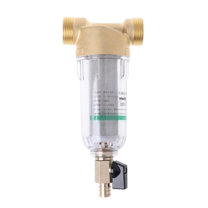 Image 4 - 1 Inch 4 Points Prefilter Stainless Steel Water Purifier Mesh Copper Tap Faucet