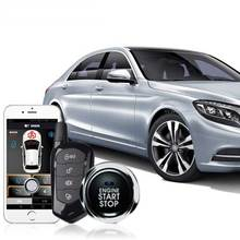 3-5M Automatic Remote Start PKE Android keyless Entry anti-theft System Car Central Lock Starline Alarm Stop