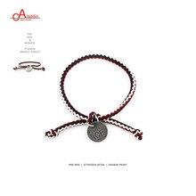 Aladdin ID браслет из нержавеющей стали для женщин и мужчин Многоцветный Веревка регулируемый шнур браслет DIY ручной работы семья дружеский подарок