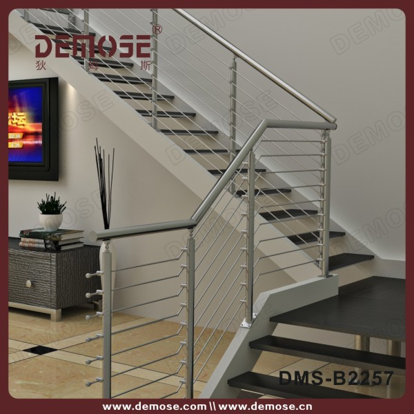 modern design railing tangga stainless steel harga for