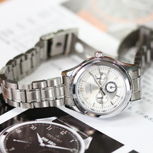 Silver Quartz Watches Ladies Steel Antique Geneva