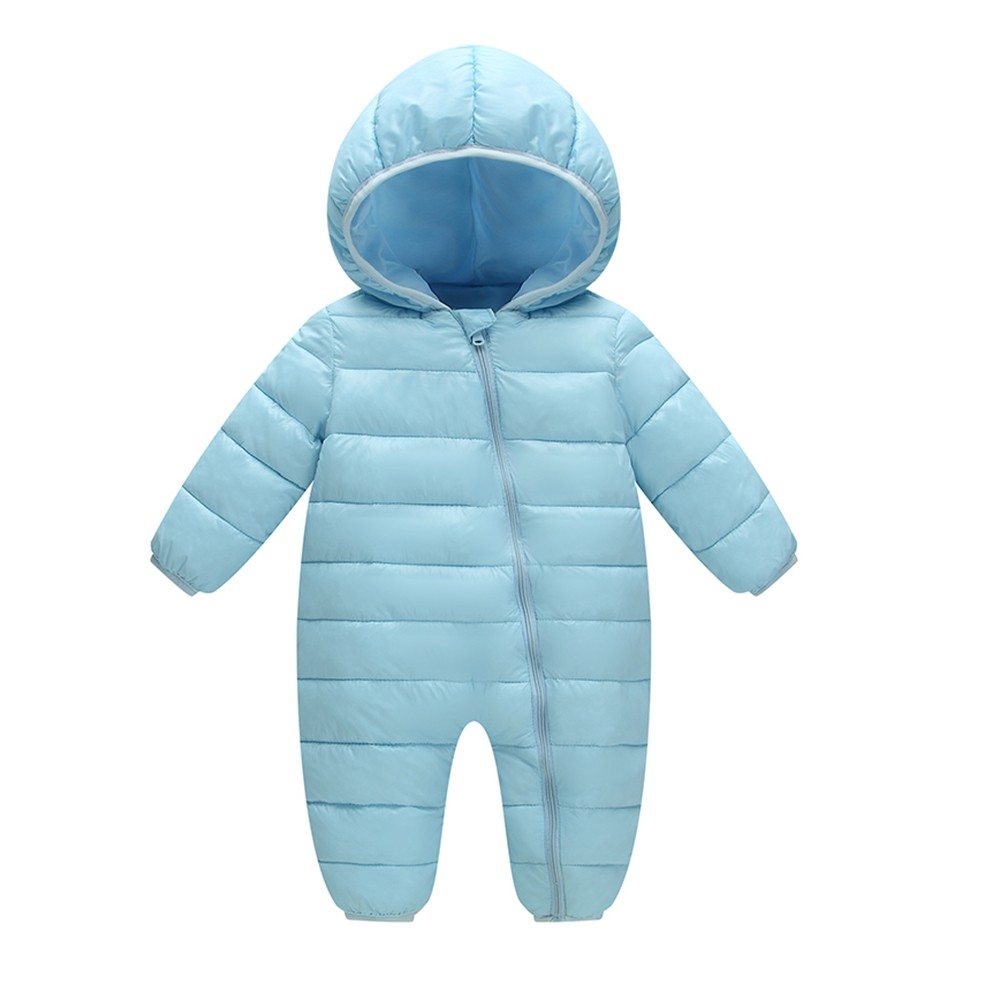 Newborn Kids Baby Boys Girls Rompers Winter Thick Cotton Warm Clothes Jumpsuit