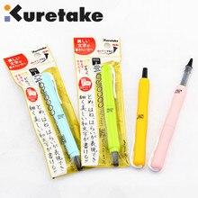 ZIG Cocoiro Kuretake Кисть ручка с жестким наконечником черные чернила Япония