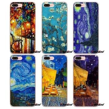 For Xiaomi Mi6 Mi 6 A1 Max Mix 2 5X 6X Redmi Note 5 5A 4X 4A A4 4 3 Plus Pro Vincent Van Gogh Starry Night Silicone Case dispensador de cereal peru