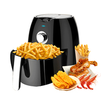 2019 Household Air Fryer High Capacity Intelligent No Fumes French Electric Fryer Deep Fryer Gas
