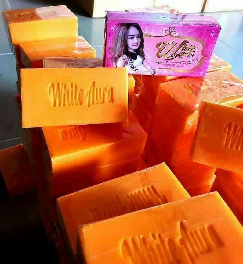 CARROT WHITE SOAP SPEED AURA FOR Facial & Body,Bleaching,CLEAR ACNE,80 G Free Ship