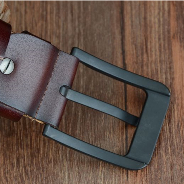 COWATHER new fashion male belt cow genuine leather belts
