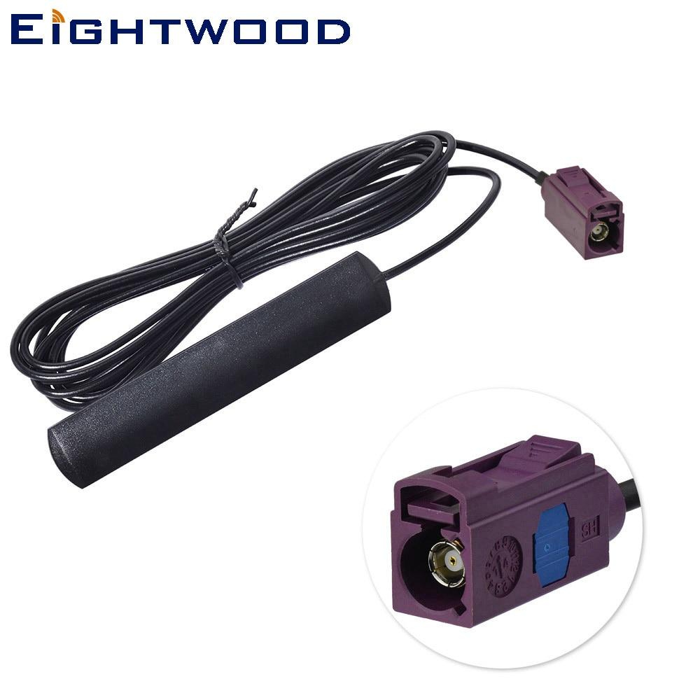 Eightwood 824-960 Mhz 1710-1990 MHz GSM/UMTS/HSPA/CDMA Antenne 2dbi Fakra Stecker für VW Hum Audi