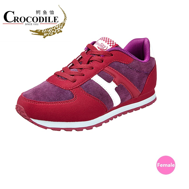 Crocodile Original Women Athletic Running Shoes Jogging Baseball Trainner Lady Chaussures Homme Sneakers Women Flat Sport Shoes