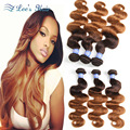 Ombre Brazilian Hair 7A Brazilian Virgin Hair Body Wave 3pcs Brazilian Hair Weave Bundles Human Hair Weave Brazilian Body Wave