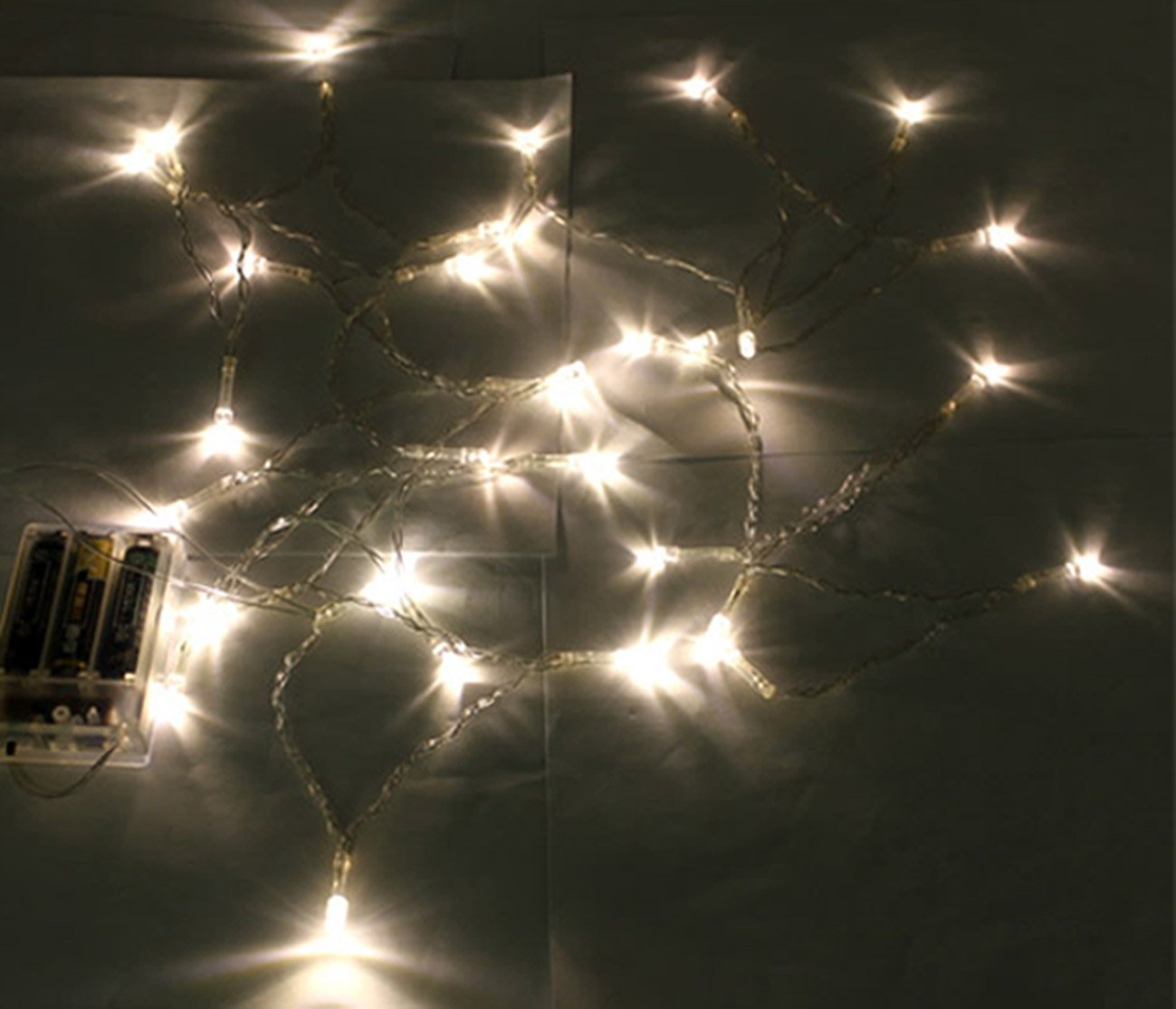 Promotion! Battery Power Operated 3M 30 Warm White Led Mini Fairy Lights