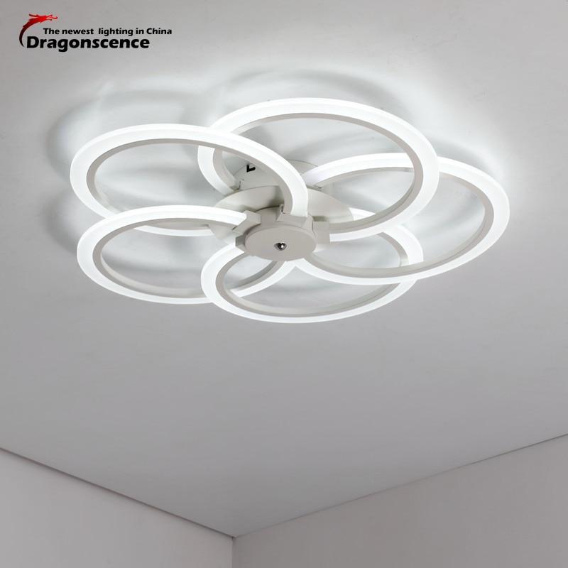 Dragonscence современный светодио дный потолочный светильник потолочный светодио дный лампы, светильники для местный номер Обеденная исследова...