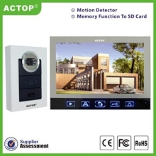 320+210 Direct Factory Video Door Phone with Security Camera and Monitor, Touch Keypad Design, 7 Inch Color Display Screen