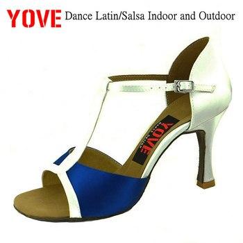 eba700d9 YOVE estilo w1610-5 zapatos de baile zapatos Bachata/Salsa de interior y al