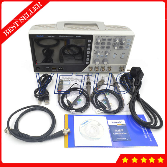 Hantek DSO4102C usb spectrum analyzer with oscilloscope pc