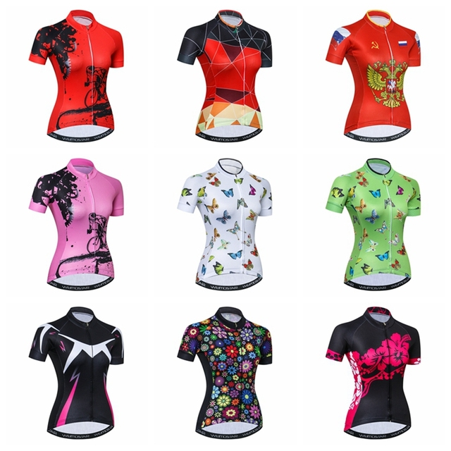 acebe8b90 Special Price Weimostar Cycling Jersey Women s Bike Jerseys Ropa Maillot  Ciclismo Youth MTB Bicycle Clothing Racing