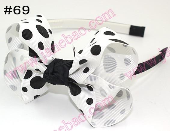 120 шт. 4,5 ''headbands повязки на голову с бантом и повязка на голову для девочек innfant многослойный бант повязка на голову