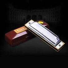 Suzuki Harmonica Народный мастер 1072 Стандартный Начинающий 10 отверстий 20 Тон диатонический Ключ C A D E F G