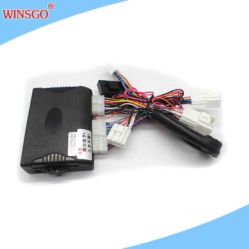 WINSGO Auto Car Accessories Power Window Closer Closing Opening 4 windows One BY One Control by