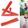 PVC Dobrado Sinais Reflexiva Triângulos Reflexivo Triângulo de Advertência de Segurança Do Carro Do Carro Auto Tripé De Emergência Sinal de Alerta