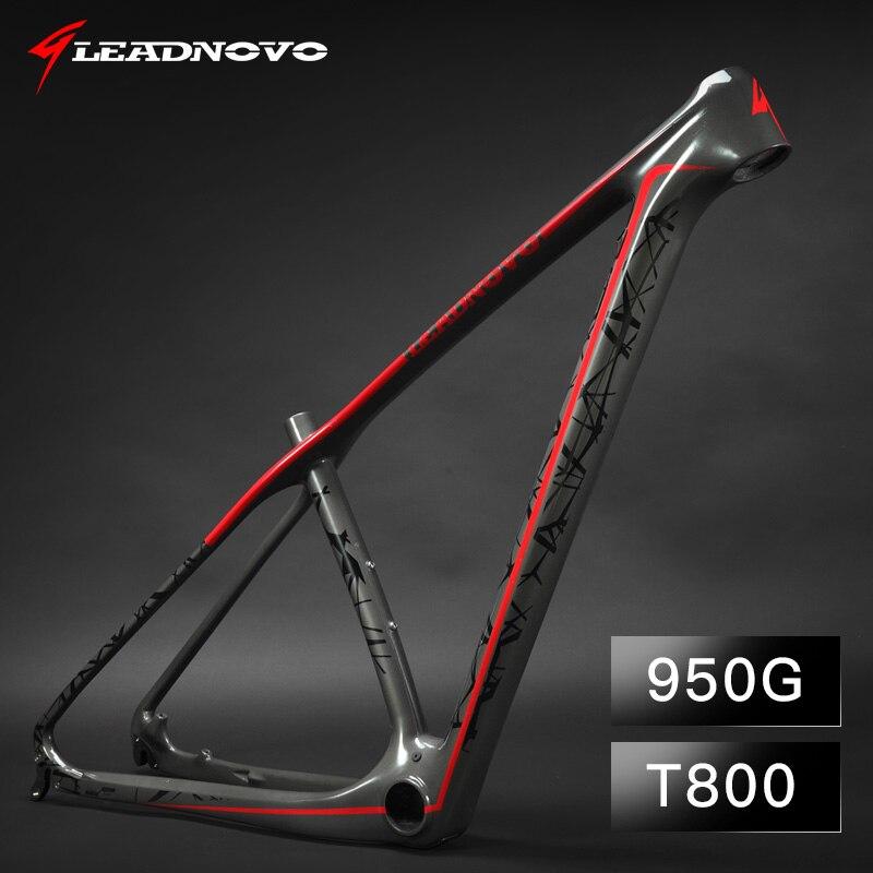 Cadre en carbone 27.5/29er cadre de vélo en carbone vtt cadre de vélo de montagne cadres de vélo carbono pf30 peuvent être personnalisés