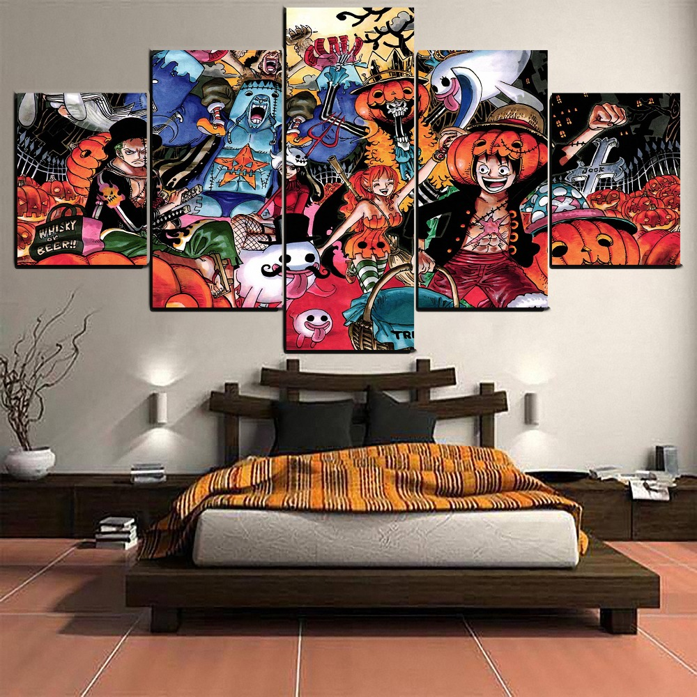 One Piece Nami Anime HD Print Wall Poster Scroll Home Decor Cosplay